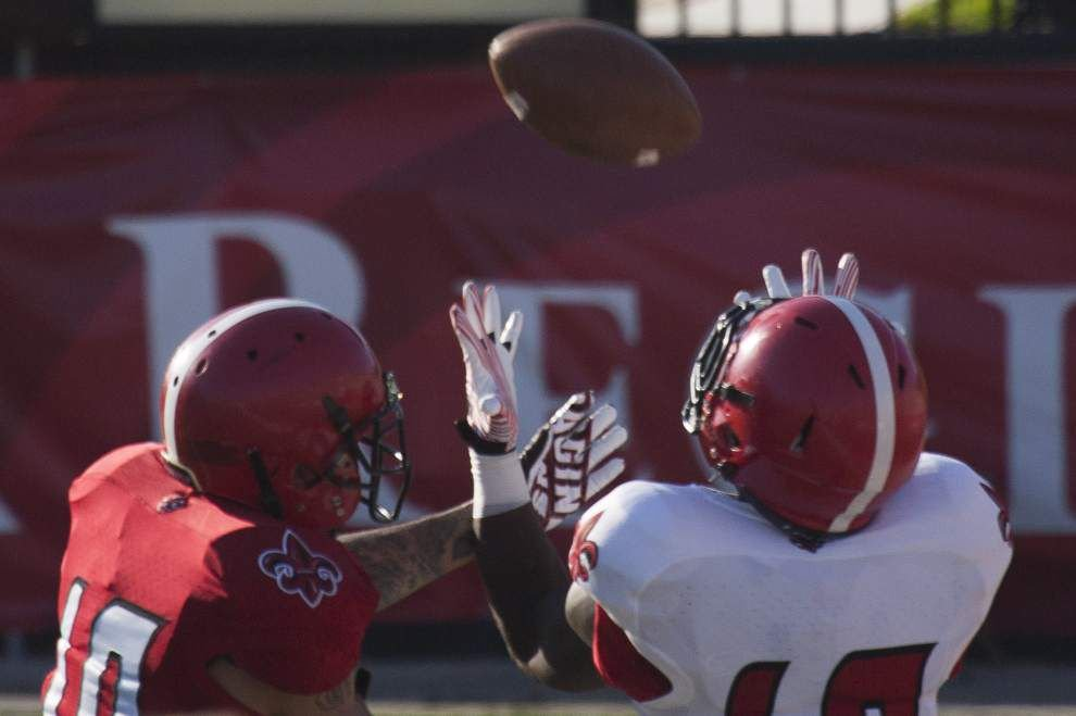 First scrimmage in books for Cajuns _lowres