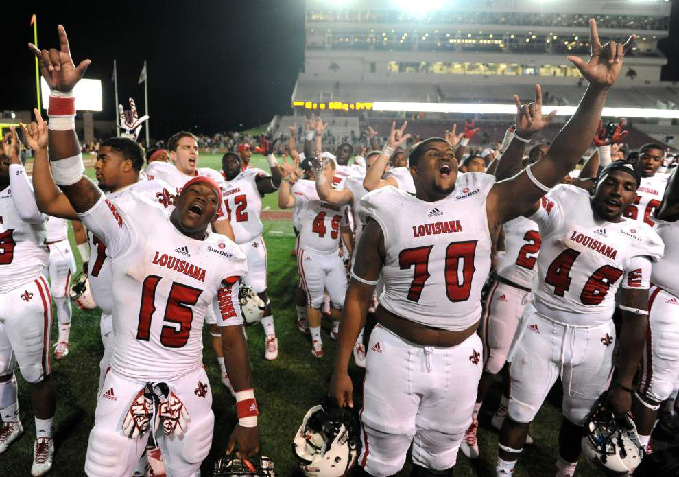 After years of impressive consistency, change on the scene for the Ragin' Cajuns football team _lowres