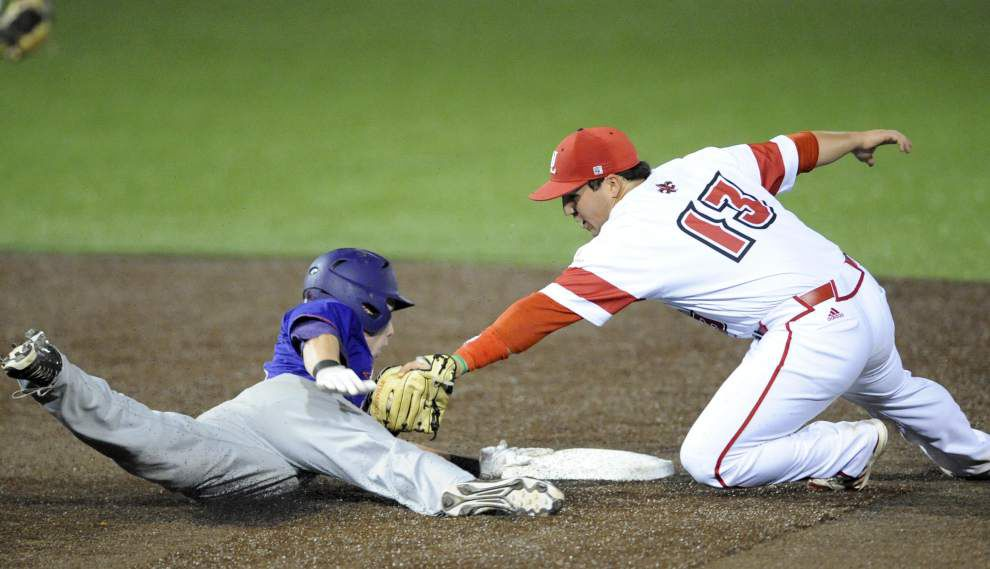 Ragin' Cajuns baseball team defeats Northwestern State for third straight win _lowres