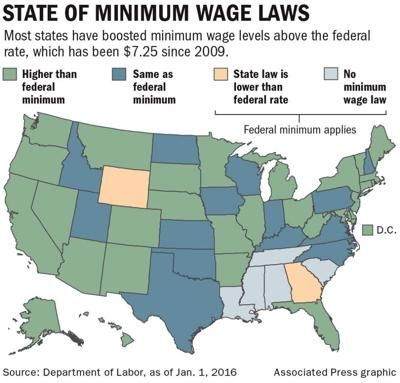 With governor's urging, Louisiana Senate panel advances minimum wage, equal pay bills _lowres