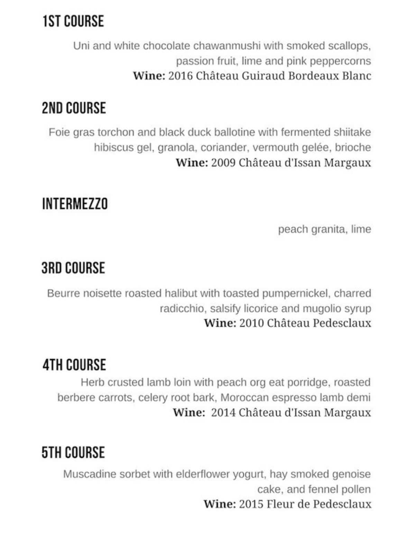 galatoires menu