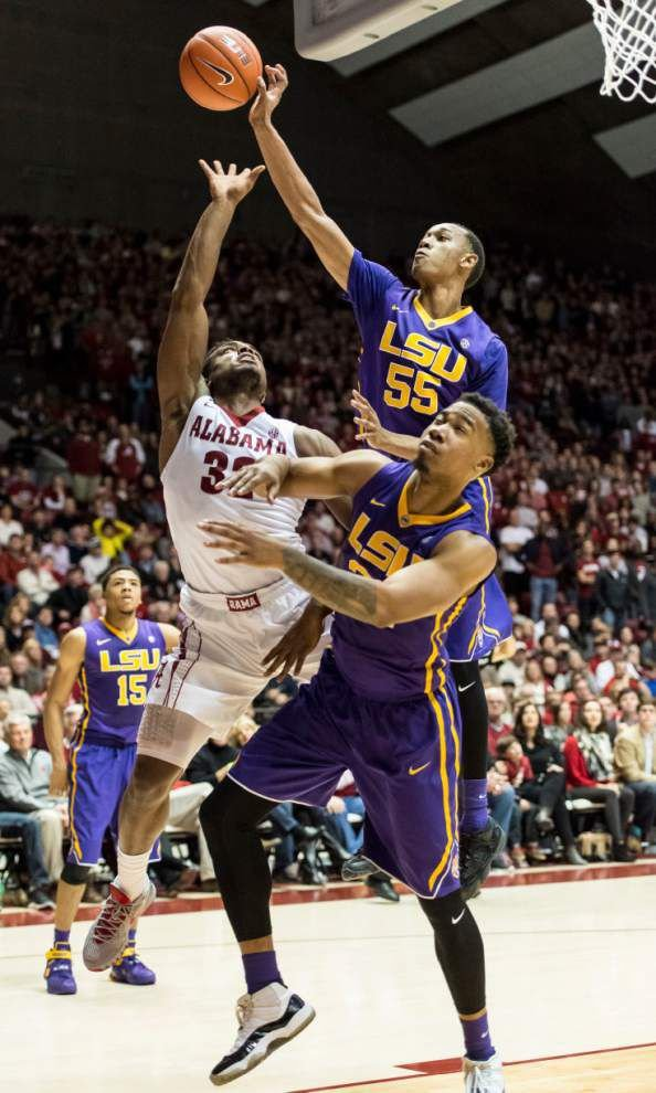 Tim Quarterman's key contributions lifted LSU to victory at Alabama _lowres