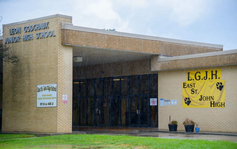 East St. John Elementary students will go back to class Monday for first time since fire damaged campus _lowres