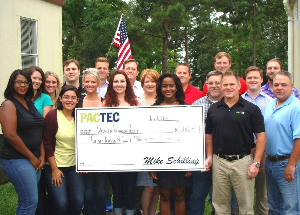 PacTec employees wear jeans to help Wounded Warriors _lowres