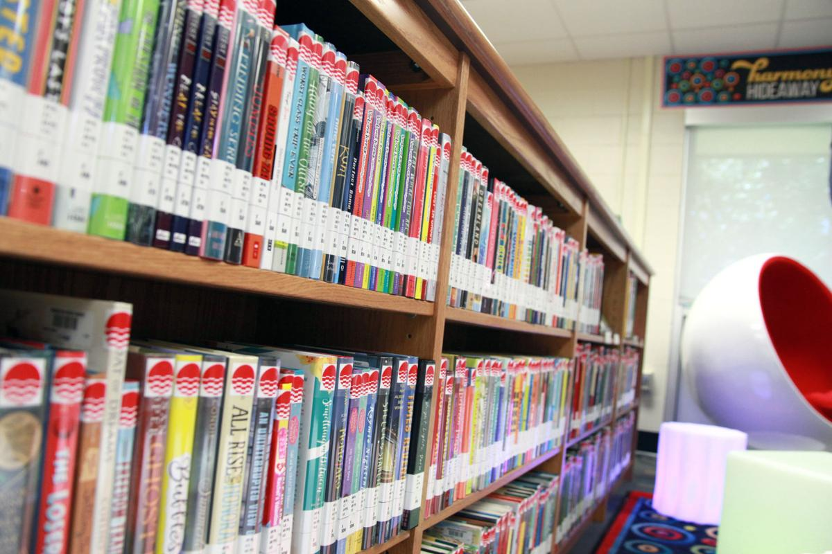 Books at Brookstown Middle.JPG