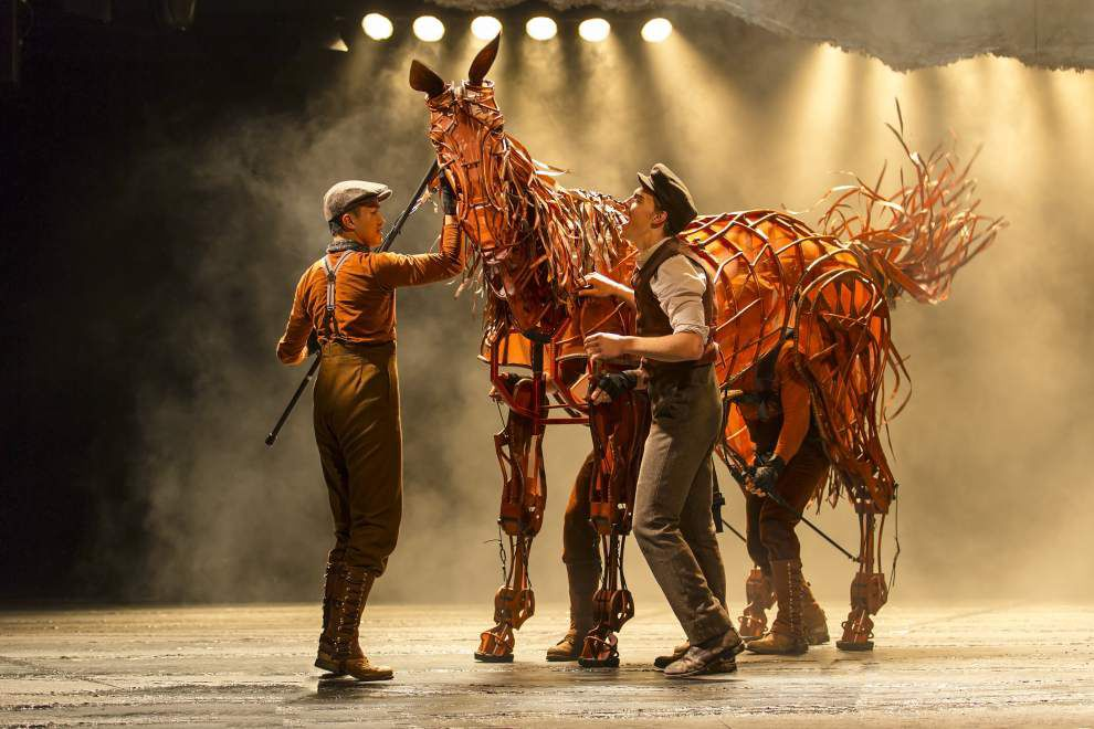 Review: 'War Horse' gallops into the Saenger on theatrical magic _lowres