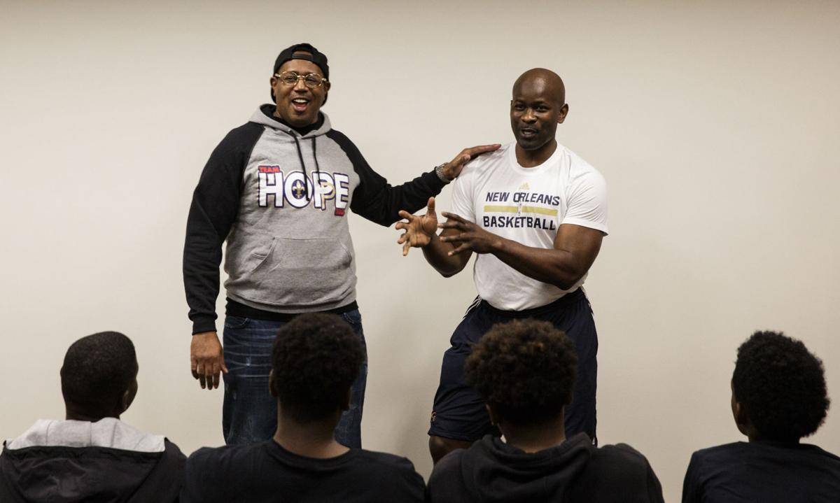 Pelicans assistant Robert Pack teams with Master P to form Team H.O.P.E. to  mentor local youth 4846ea2b0