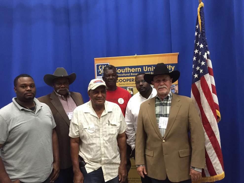 Louisiana small farmers attend March conference _lowres