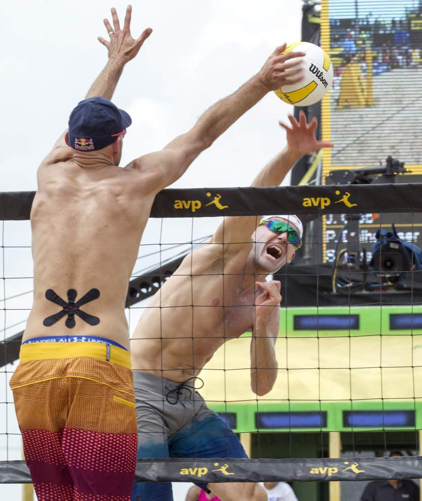 Photos: Kerri Walsh Jennings, April Ross spike competition, win pro volleyball's New Orleans Open _lowres