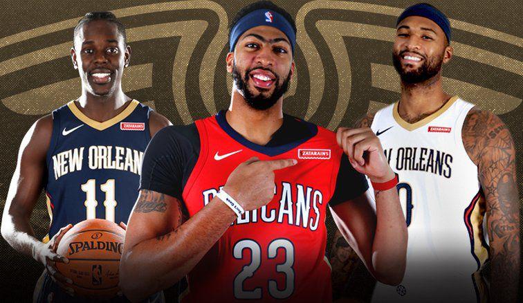 e49fe7c8e Pelicans to wear Zatarain s logo on jerseys beginning in 2017-18 season