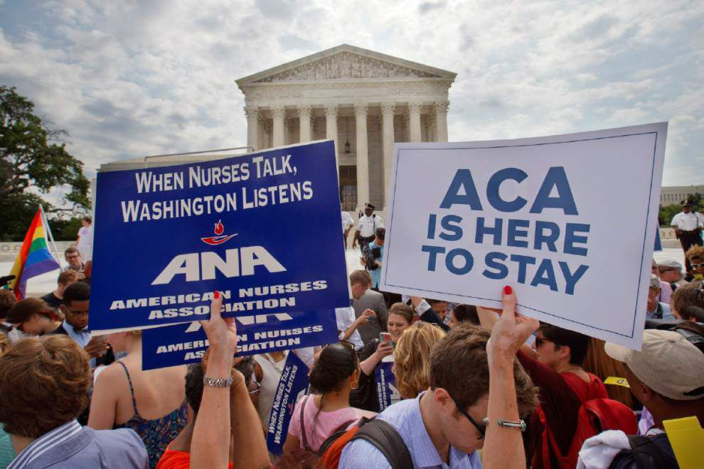 What the Supreme Court's Obamacare ruling means for Louisiana residents _lowres