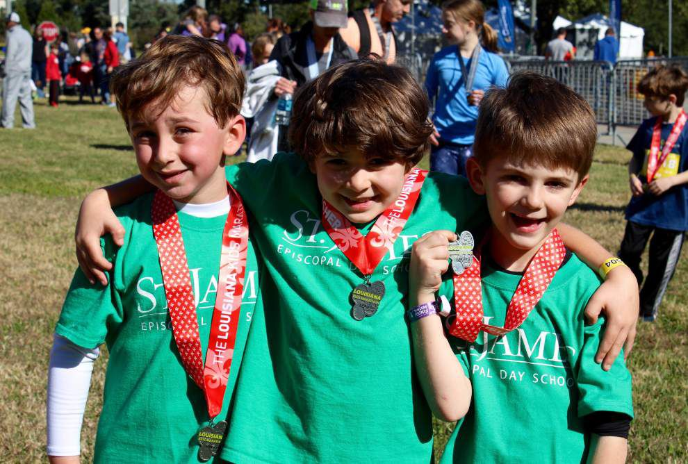 Louisiana Marathon rewards St. James Episcopal Day School _lowres