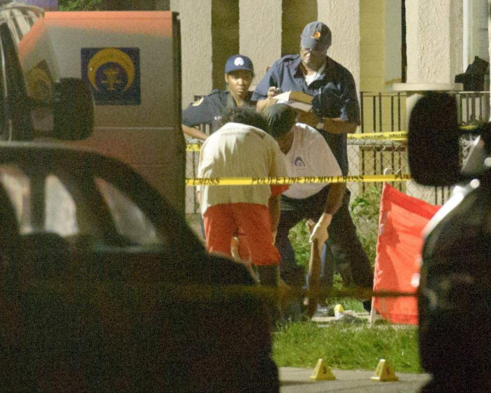 Two killed, five wounded in Lower 9th Ward _lowres