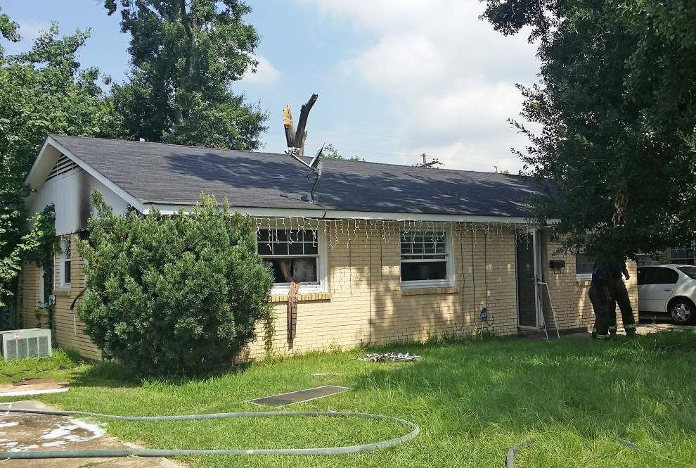Fallen tree may be cause of fire in Greenwell Street house _lowres