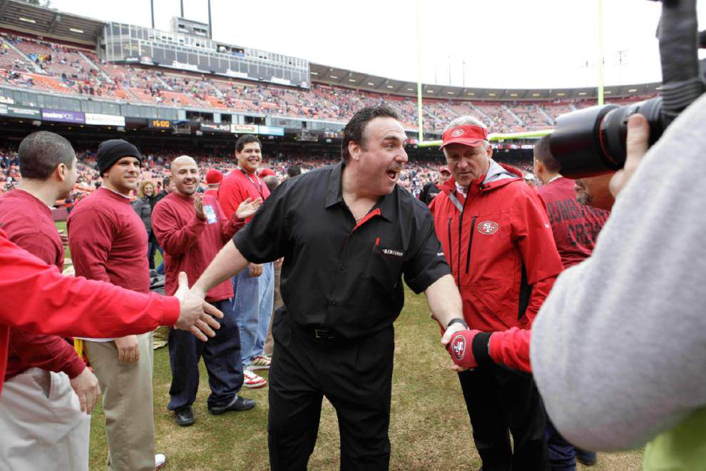 49ers promote Jim Tomsula; Raiders set to hire Jack Del Rio _lowres