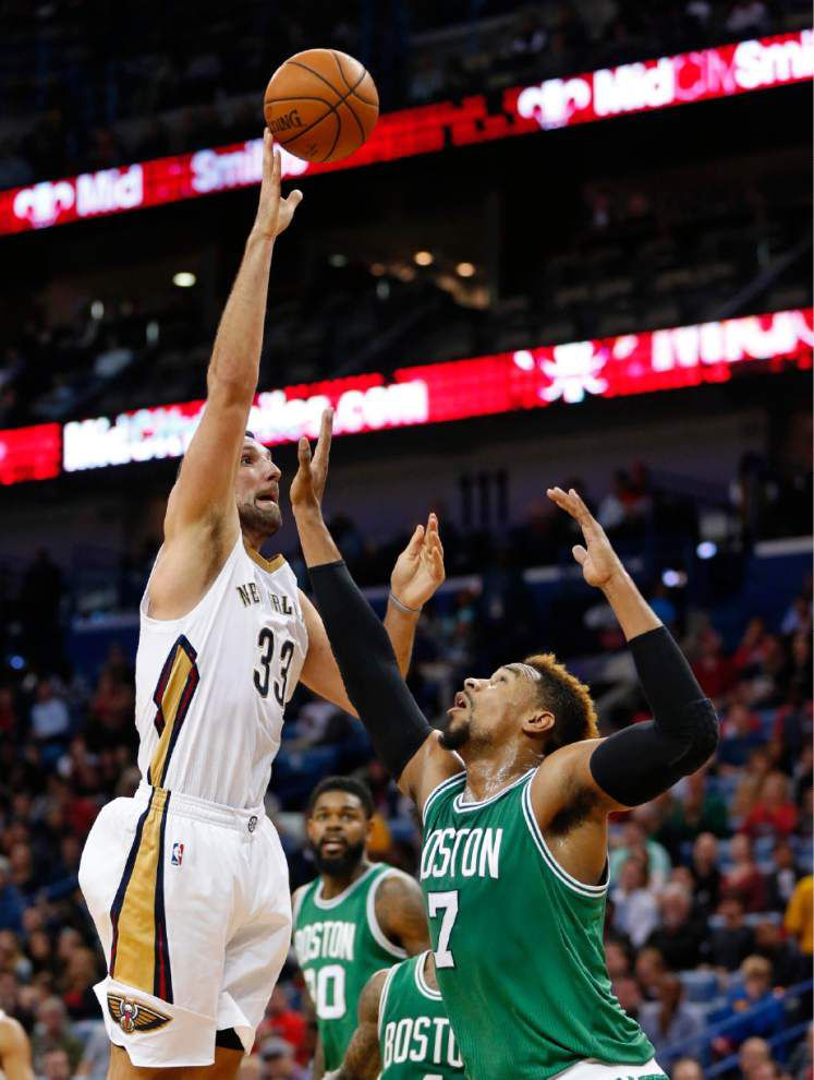 Pelicans' Ryan Anderson focused on playing not trade rumors _lowres