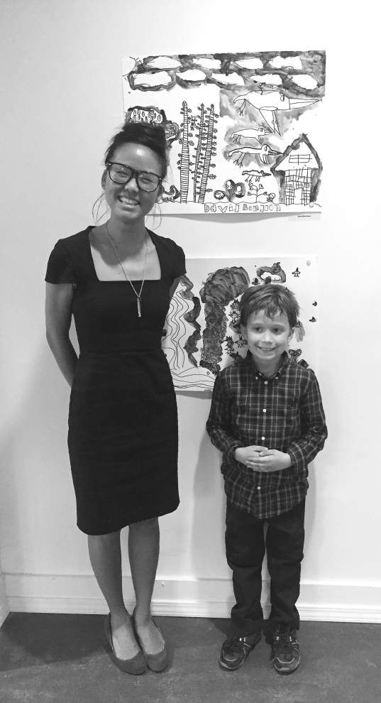Gretna students' artwork reaches viewers in Indonesia _lowres