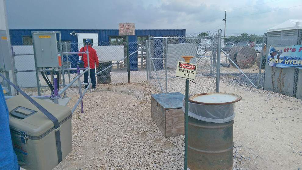 Geismar Methanex site's lightning-alert policy left upset workers locked in for two hours during Tuesday storm _lowres