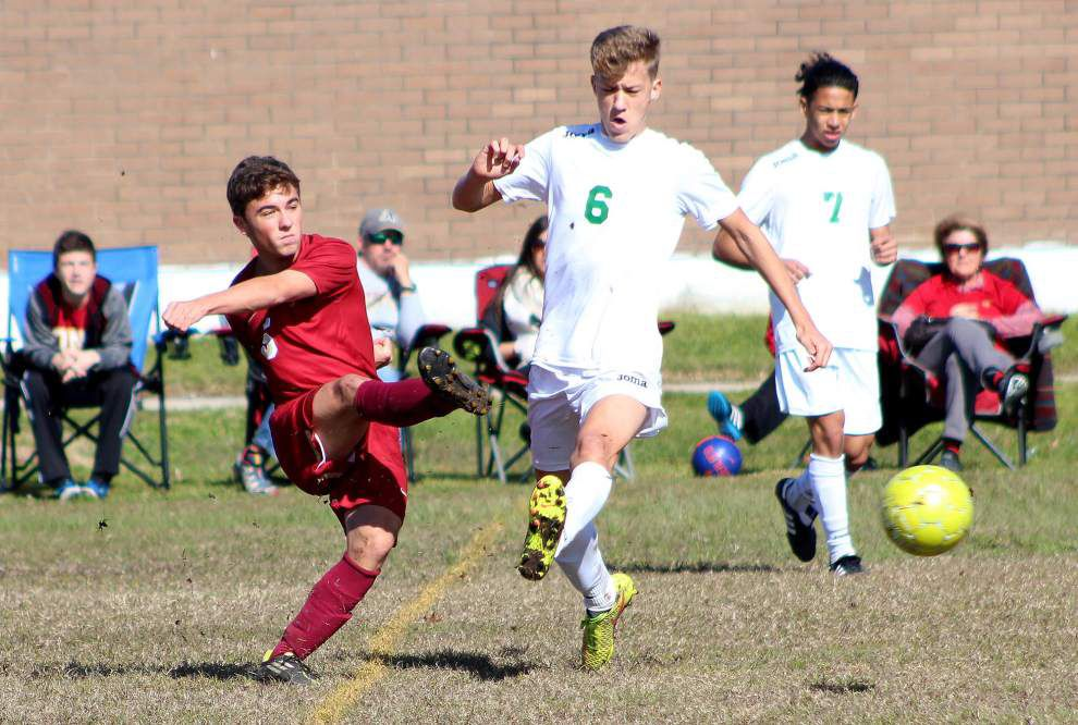 Soccer: Two goals off rebounds lift Grace King to win over Brother Martin _lowres