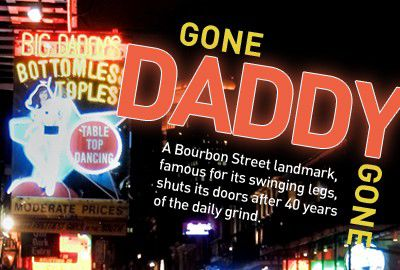 Gone Daddy Gone: The end of Big Daddy's_lowres