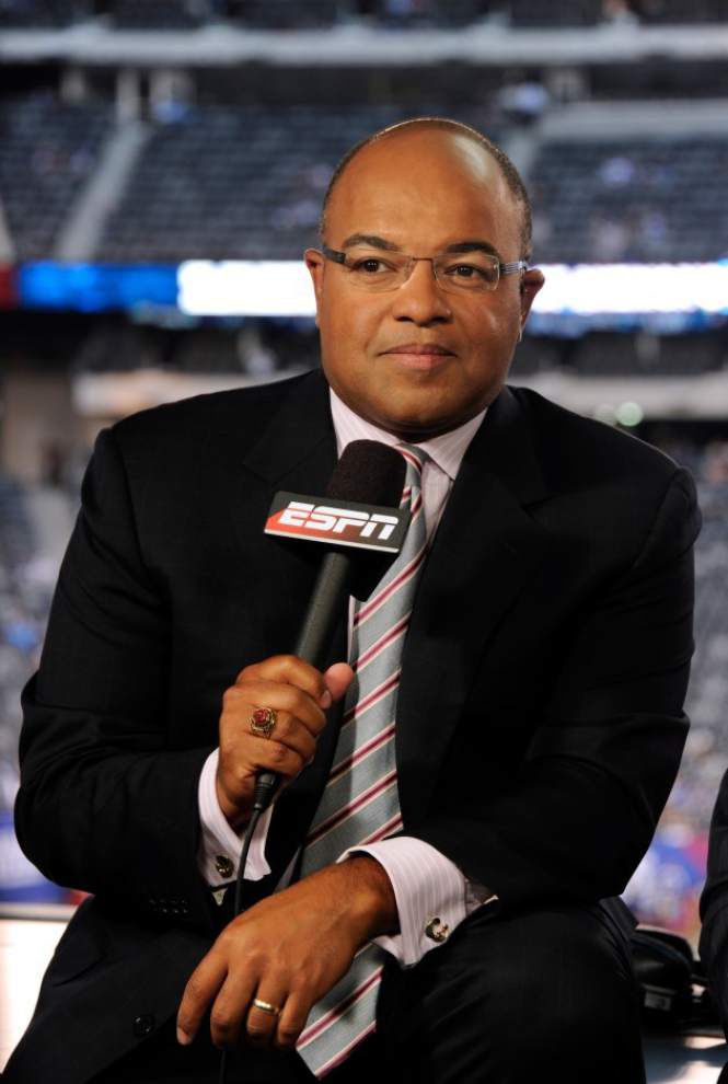 Lewis: Saints' super return to the Dome still resonates for 'Monday Night Football' play-by-play man Mike Tirico _lowres