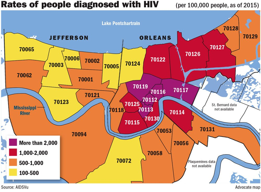 Zip Code Map New Orleans Here's how Baton Rouge, New Orleans could benefit from drug