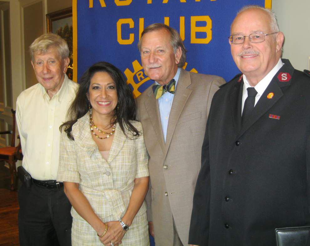 Metairie Rotary Club hears about Salvation Army program _lowres