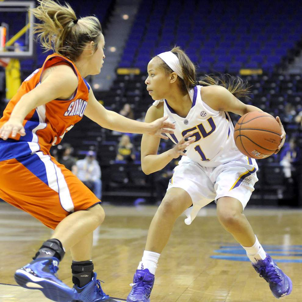 Defensive energy helps Lady Tigers beat Sam Houston State 71-45 _lowres