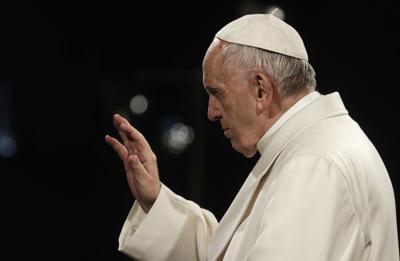 Italy Pope Good Friday