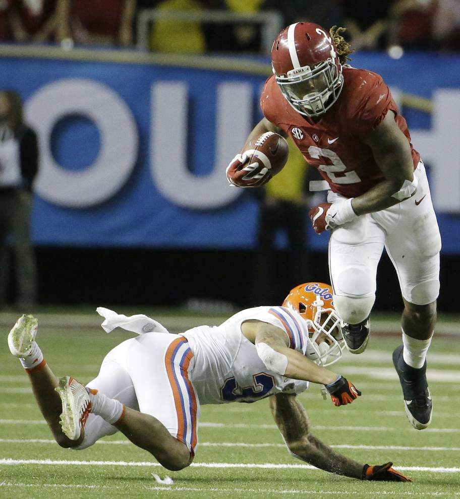 Alabama locks up spot in College Football Playoff with 29-15 victory over Florida in the SEC title game _lowres