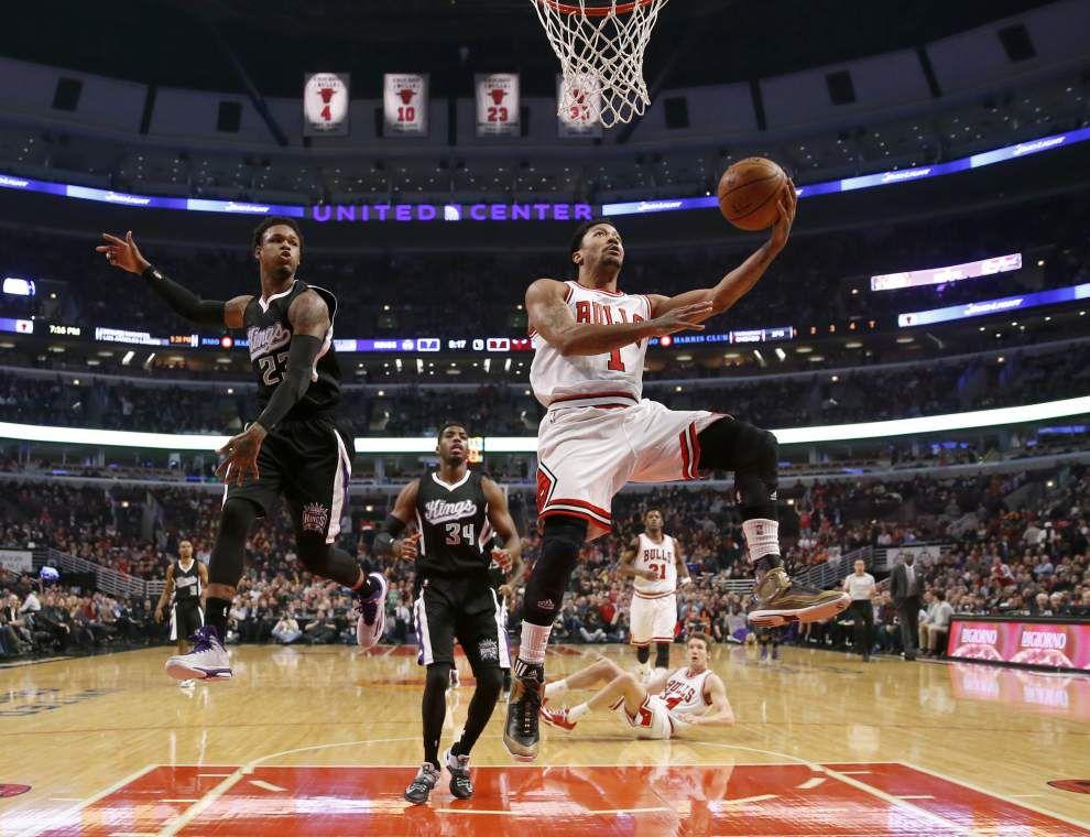 Knee injury to star guard Rose hits Bulls hard _lowres