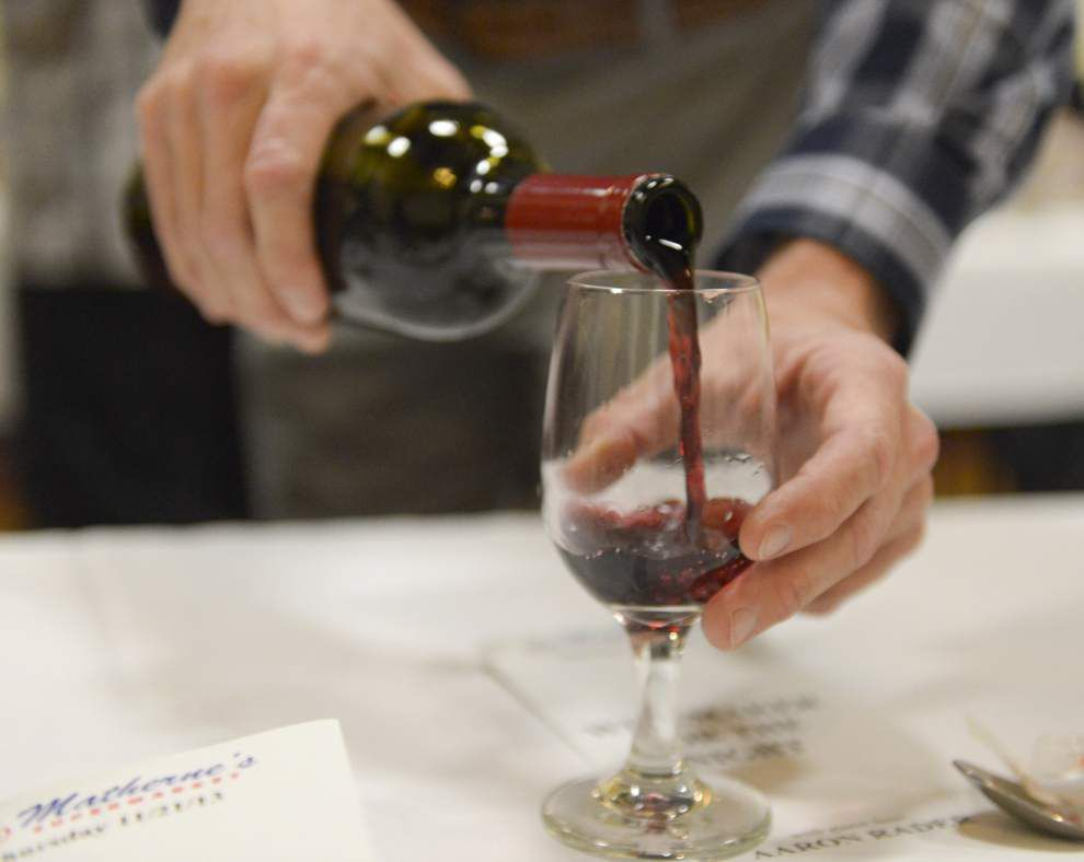 Duo of wine dinners on tap in Baton Rouge this week _lowres