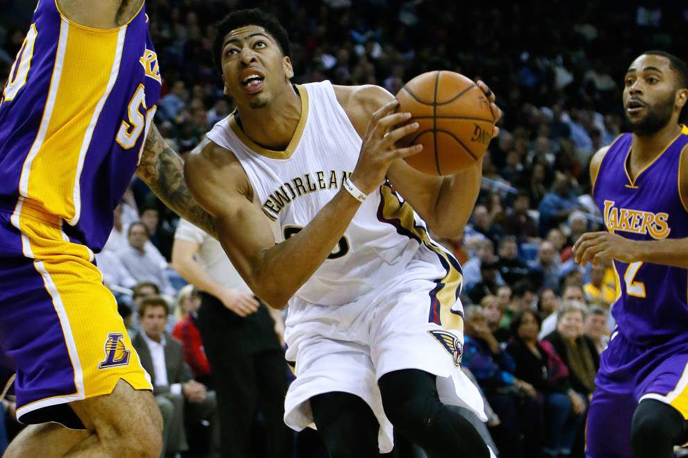 New Orleans Pelicans' Anthony Davis thanks fans for All-Star nod _lowres