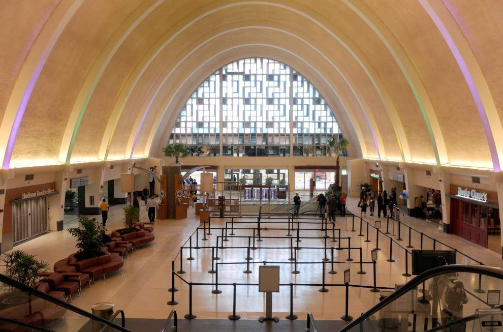 Bond Commission approves borrowing for New Orleans airport makeover _lowres