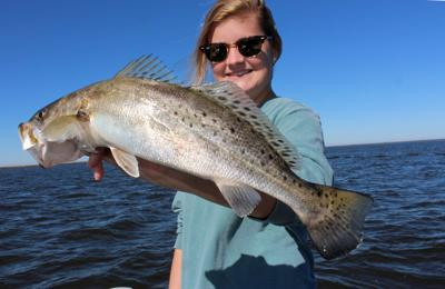 Callie speckled trout
