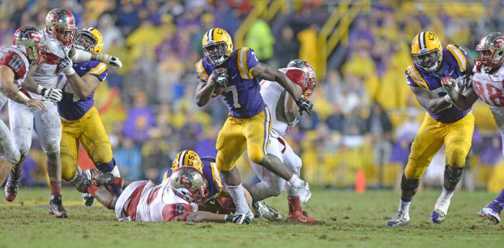 Senior struggles: LSU's senior class one of the smallest, least productive in SEC _lowres