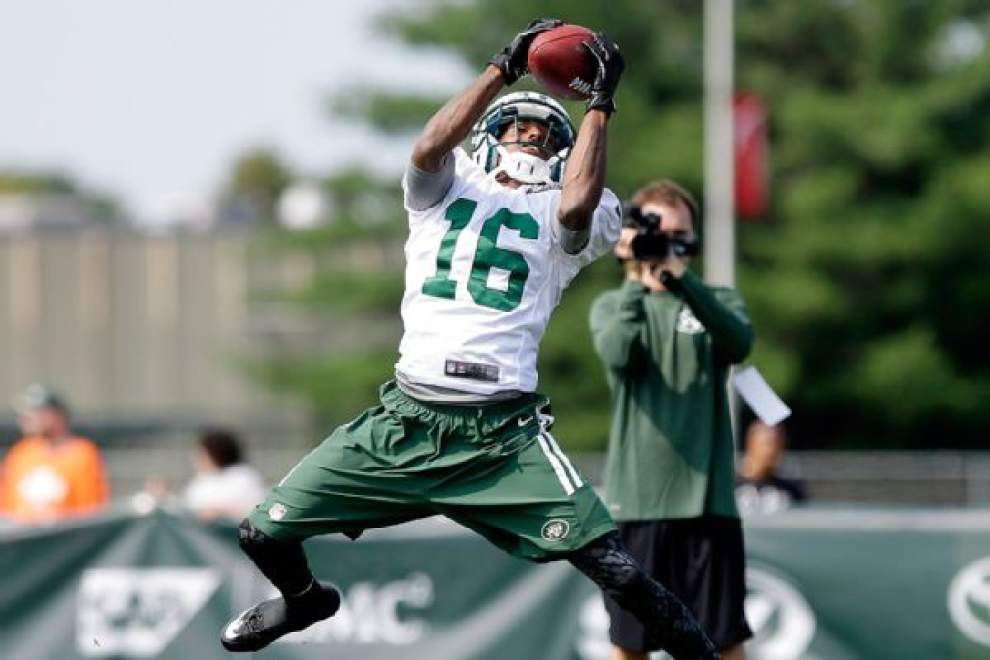 Saints sign rookie punt returner/receiver Jalen Saunders from the Seattle Seahawks' practice squad _lowres