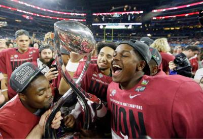 College Football Playoff semifinals draw lower ratings on New Year's Eve _lowres