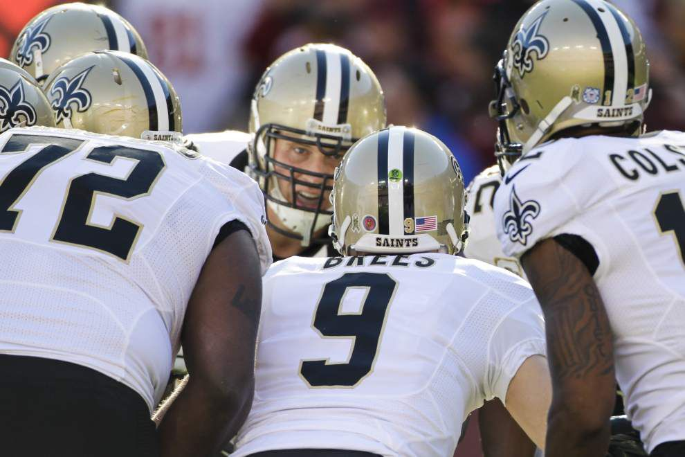 Three and out: After the Saints at Redskins game, don't get your hopes up for the remaining Saints' season _lowres