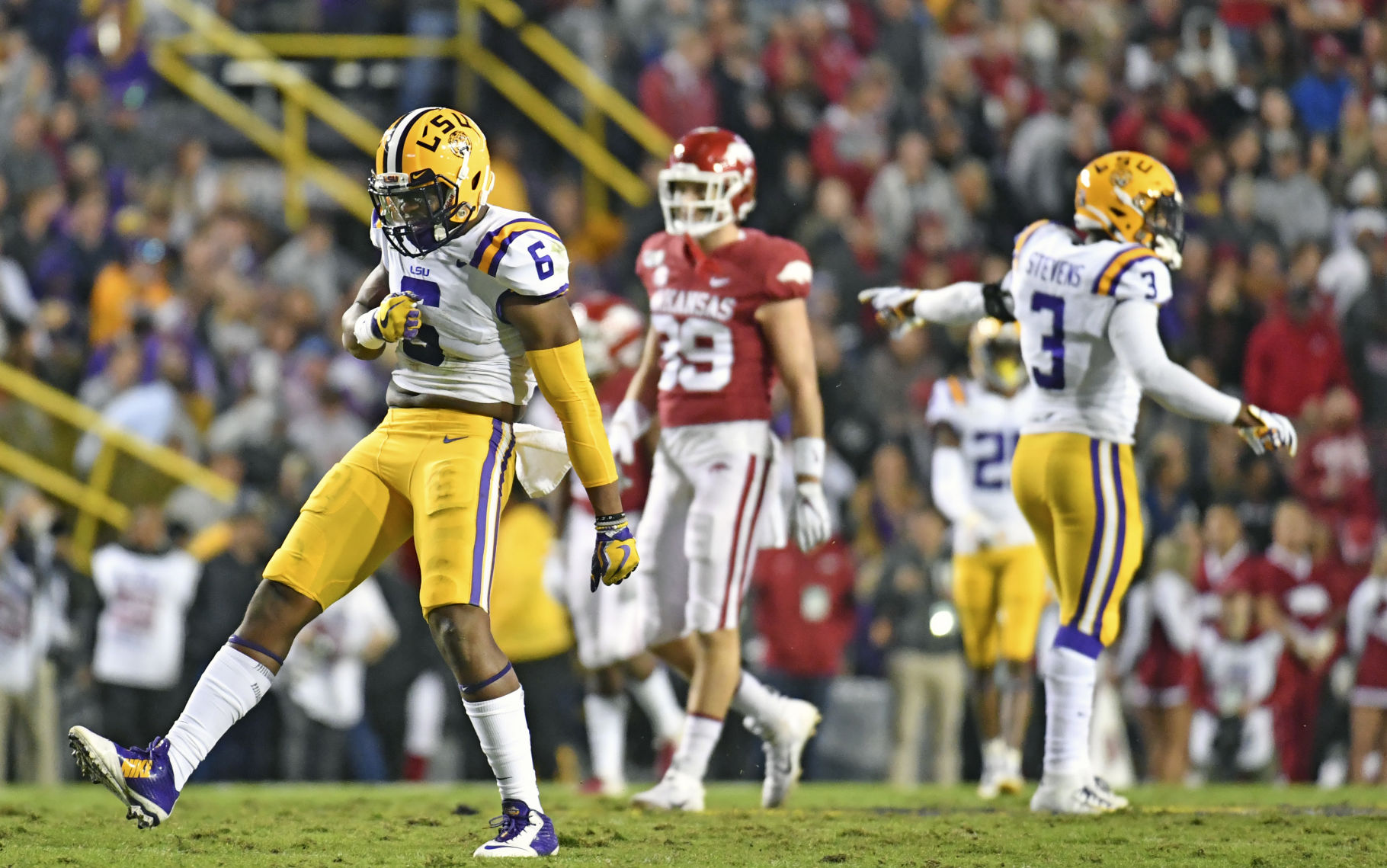 LSU Vs Arkansas Live Updates What Ed Orgeron Others Had To Say After Clinching SEC Title LSU Theadvocate com