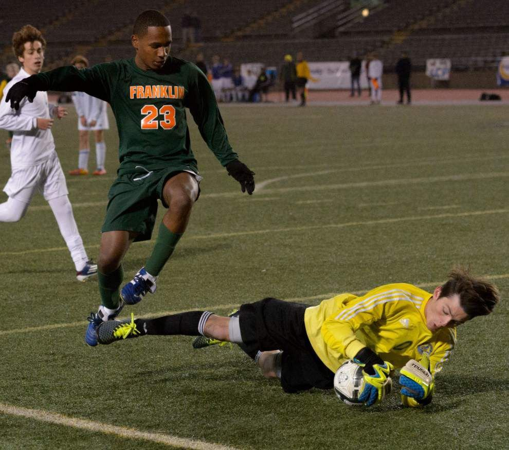 Ben Franklin falls to Vandebilt Catholic on penalty kicks in Division II boys soccer state title game _lowres