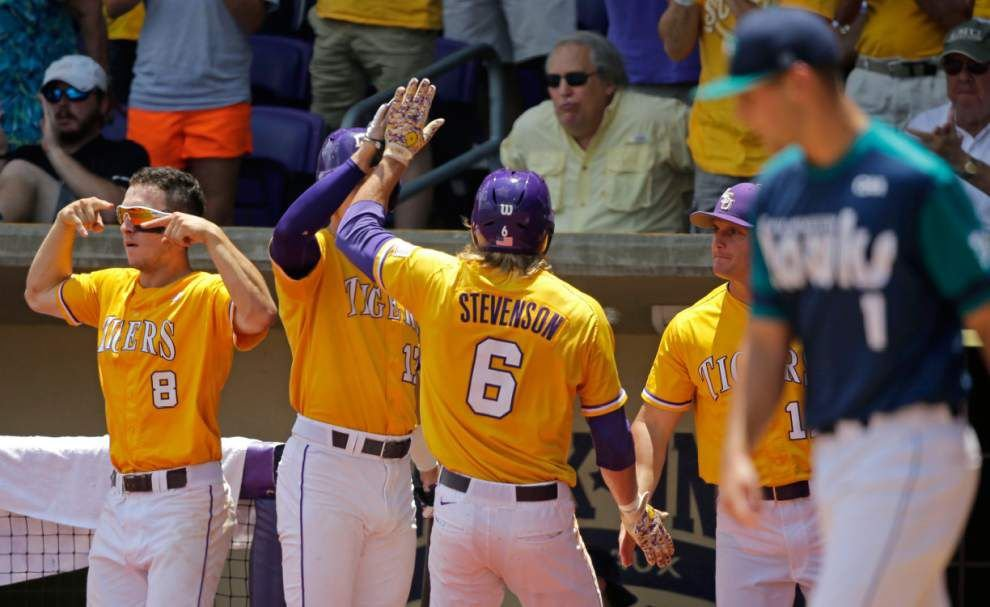LSU advances to Super Regional; UL-Lafayette to face Tigers in Baton Rouge _lowres
