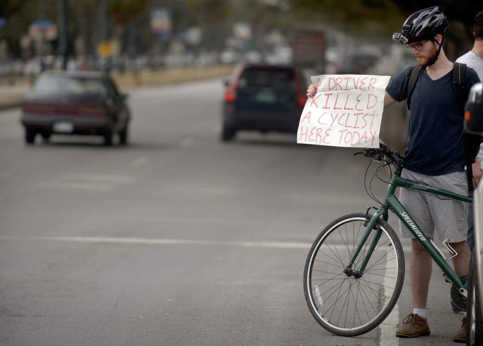 Witness in New Orleans cyclist accident: 'He never stopped; he should have stopped' _lowres