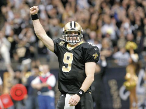 Watch Drew Brees' appearance on 'The Colbert Report'