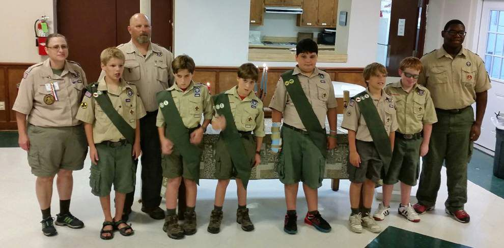 St. Patrick's Scouts earn merit badges _lowres
