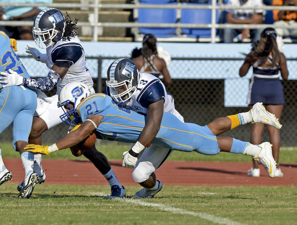 Photos: Southern Jaguars give strong performance against Jackson St. at Mumford Stadium _lowres