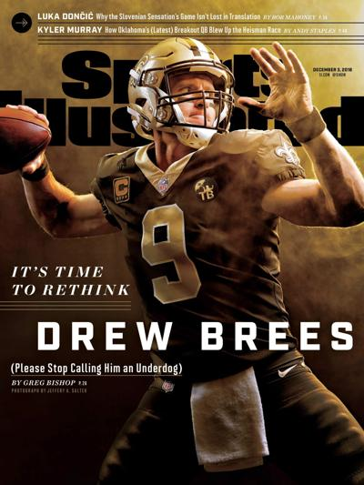 Brees SI cover