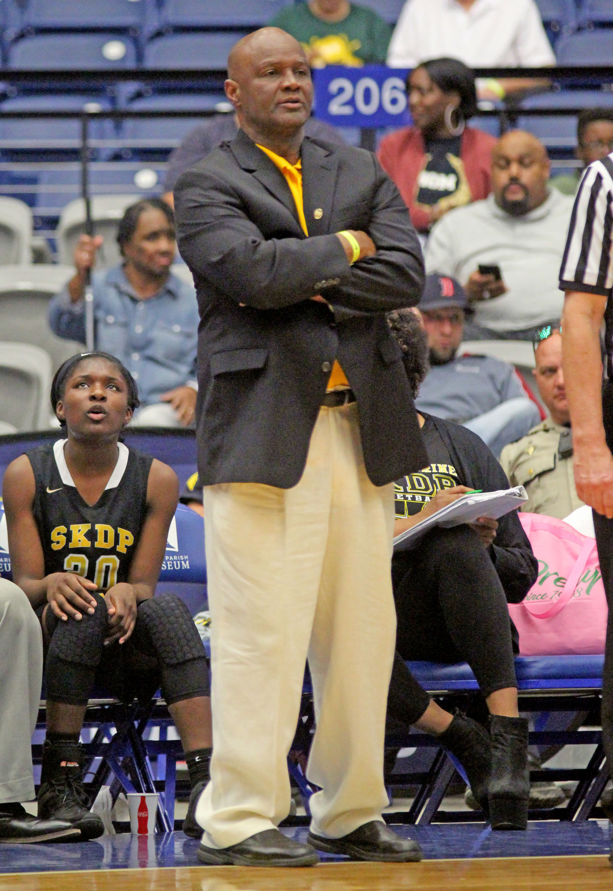 St. Katharine Drexel coach Terry Wilson