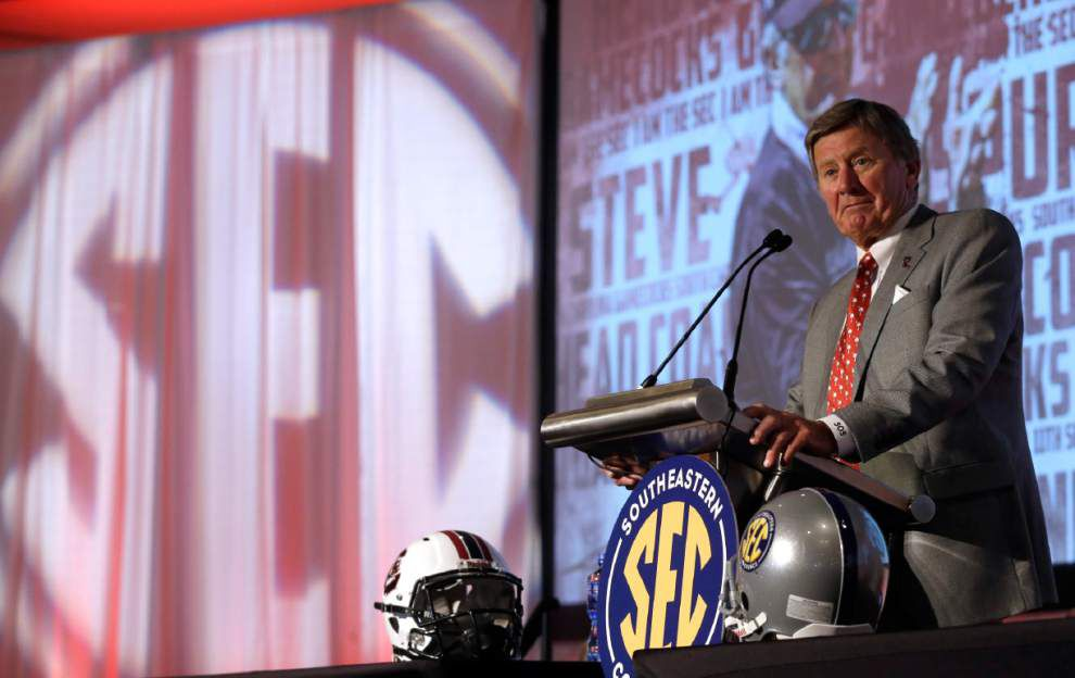 SEC Media Days 2015: Scott Rabalais' Four Downs from Tuesday _lowres