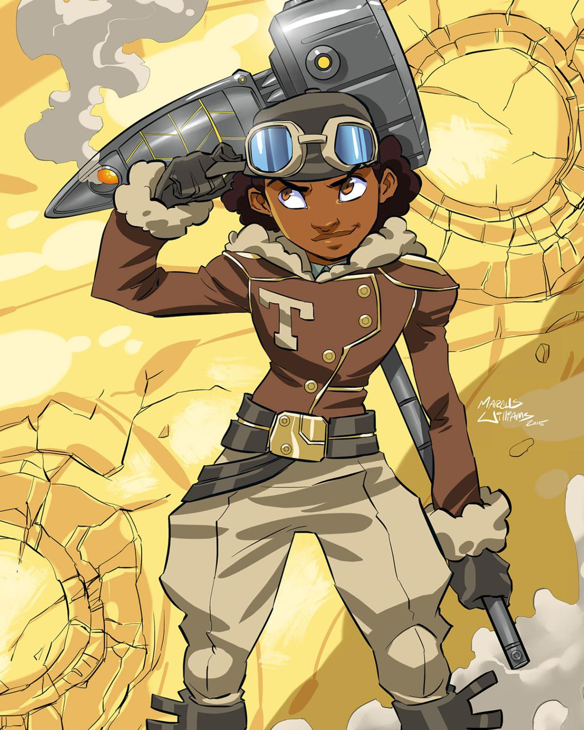 Tuskegee Heirs art for Red
